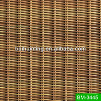 UV Resistant HDPE Plastic Rattan Woven