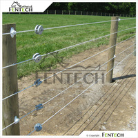 Fentech widely used farm electric fence cable, security electric fence, electric wire