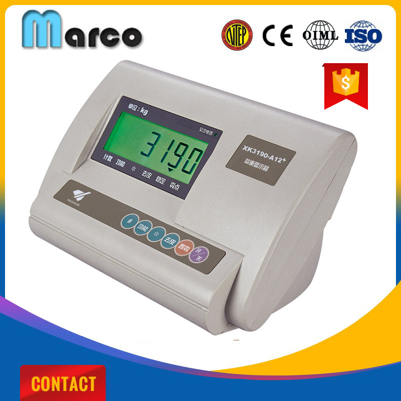 OIML A12e platform led digital weighing indicator