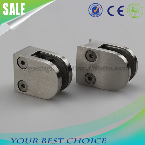 Small D Type Stainless Steel Glass Clamp