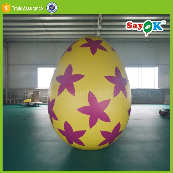 2018 easter giant inflatable easter eggs decoration /inflatable easter egg