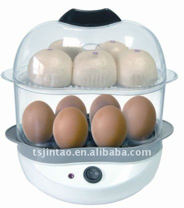2 layer electric egg boiler,mini steamer
