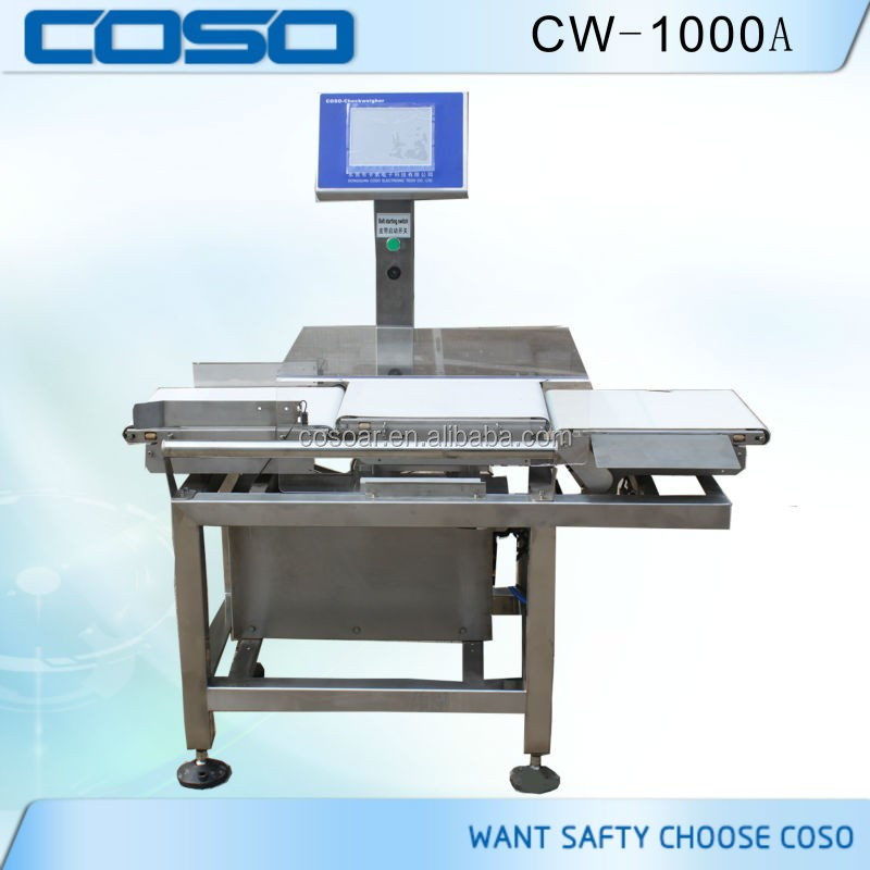 Industrial Automatic Check Weigher for food price factory
