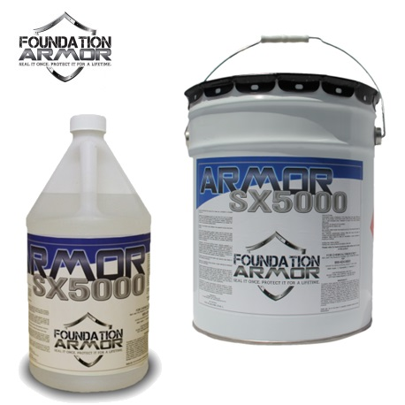ARMOR SX5000 Penetrating Concrete Sealer