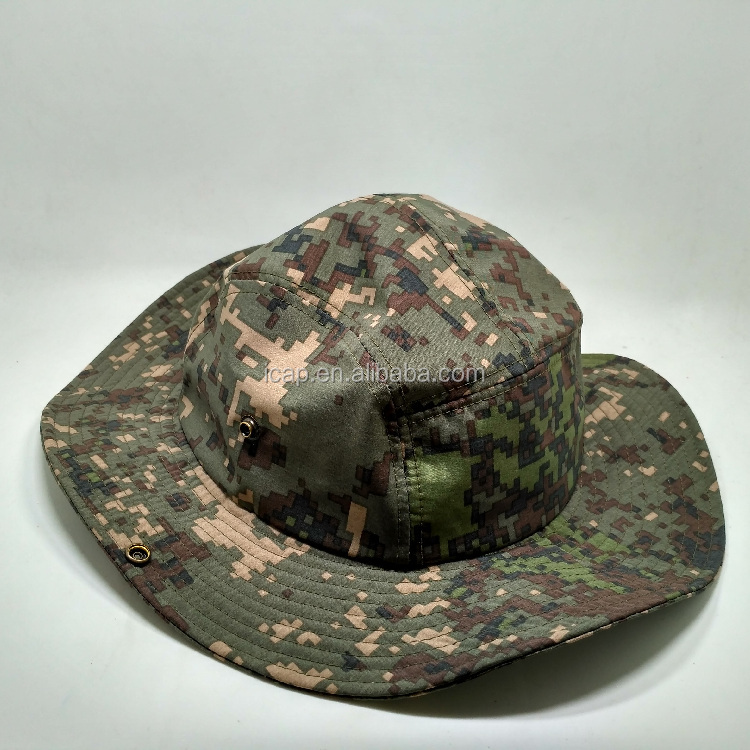 Wholesale fishing Cotton hat Printing Custom Cheap Bucket cap and hat
