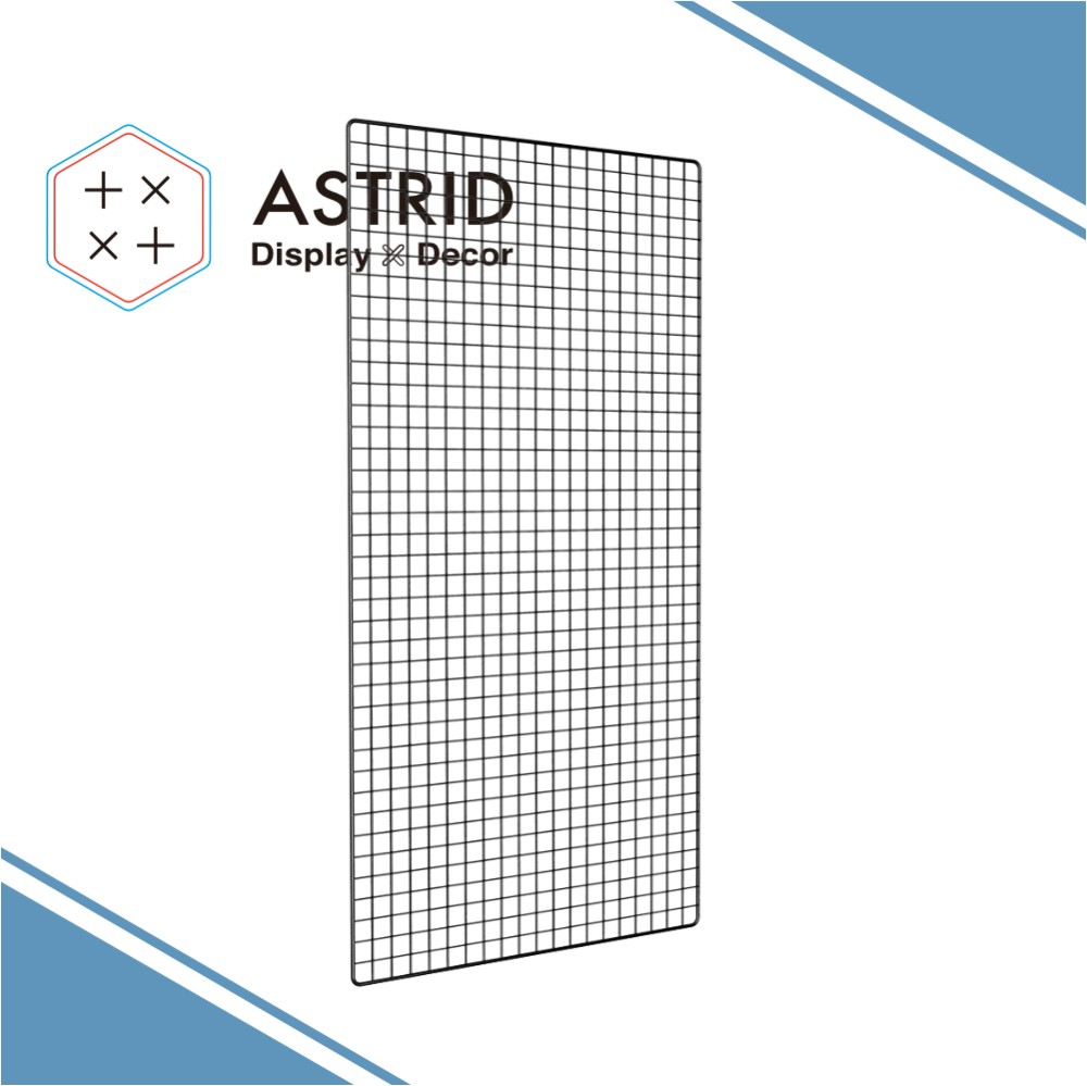 grid panel display stand grid panel wire mesh medicine shelf for grid fencing
