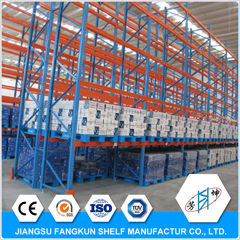 2017 new products electronics heavy duty pallet rack racks with wire mesh container