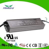 TUV SAA listed constant current 5A waterproof led driver 220W output power