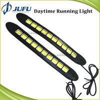 DC 12V flexible LED daytime running light auto fog light passat b6 LED DRL car driving light