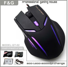 Best quality weighted 6bottons rg8 gaming mouse supplier in China