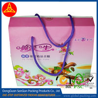 Sweet paper box for wedding candy packing
