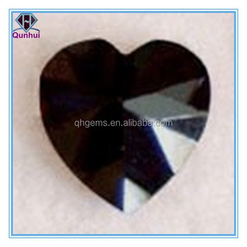 Elegant and beautiful any color heart shaped cubic zirconia jewelry