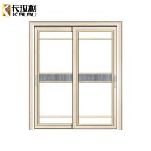 Western style commercial interior swing glass kitchen entry door design