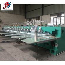 China supplier BOFAN 18 Heads 6 Needles flat+towel tajima chenille embroidery machine