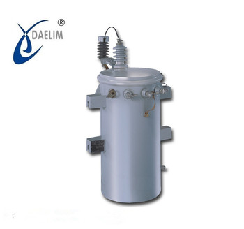 11kv 5kva pole mounted single phase distribution transformer