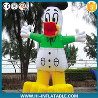 Funny Lovely Gaint Duck Swimming Ring Inflatable