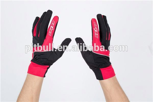 very fashionable wholesale led half finger gloves men