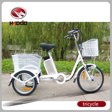 36V 10AH lithium battery 3-wheel electric trike scooter for mom taking kids to school