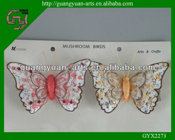 decorative handmade butterfly Christmas crafts