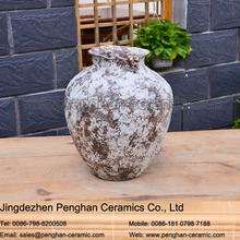 Chinese antique home and garden ceramic flower pot painting designs