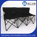 Low price new style green chrome plated metal folding chair