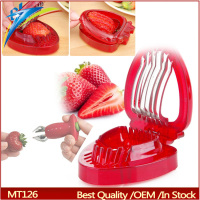 2 in 1 Strawberry Slicer and Huller Set