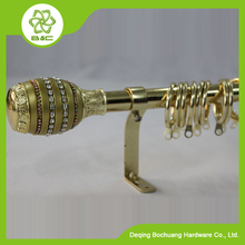 RE-001 Resin Curtain Rod, Resin Curtain Finial ,Resin Finials Curtain Rods