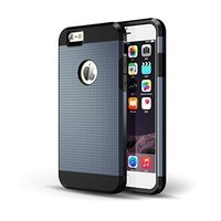 New products designed phone case cover for iphone 6 case Dual Layers Tough Armor Protective mobile phone case