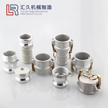 Aluminum BSPT NPT BSP thread standard camlock coupling all types for irrigation hose quick fittings