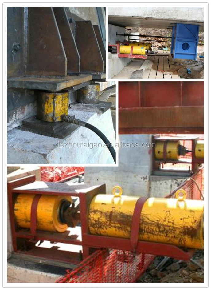 50 ton heavy duty high pressure hydraulic cylinder