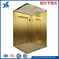 OMLON Passenger Lift Elevator with Machine Room Gearless Ascensores Elevadores J404