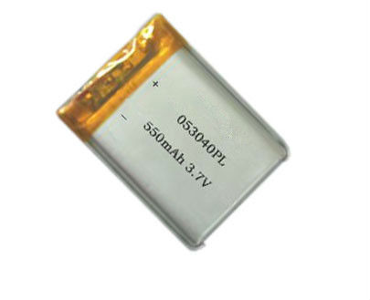 3.7V Nominal Voltage and Li-polymer Type smallest lipo battery
