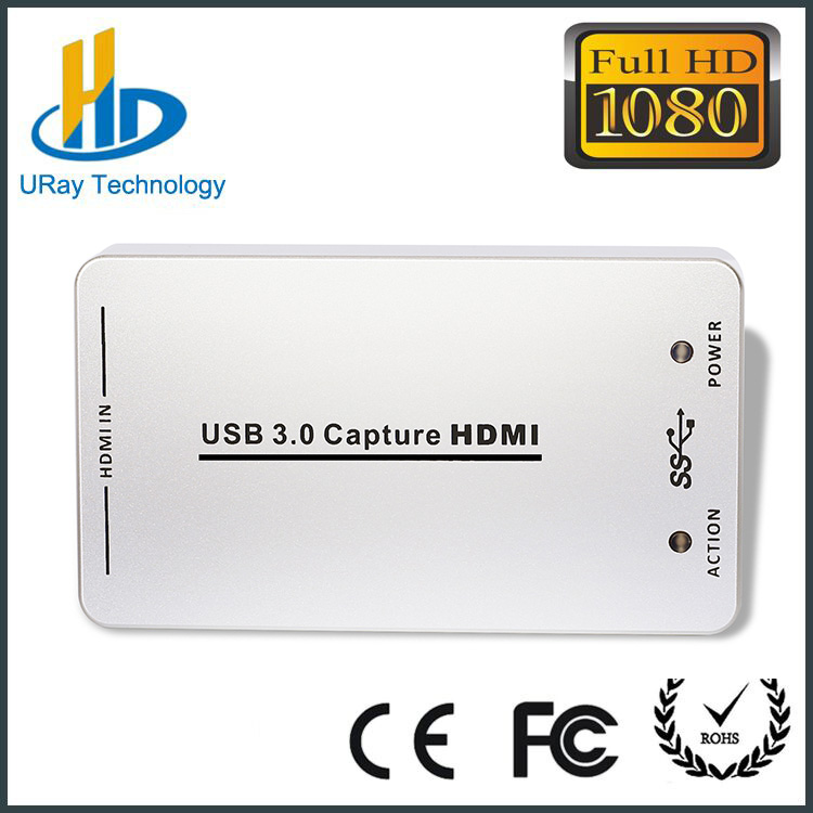 Full HD Free Driver HDMI Video Capture Card USB Support 1080P 60fps HD Video To USB3.0 /USB2.0