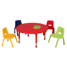 Cute Kids Learning Table and Chairs for Kindergarten