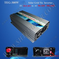 300W grid tie solar micro inverter DC 22V-60V To 110V 120V 220V 230V 240V Solar Panel Inverter