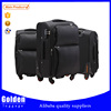business leisure men's black classical trolley luggage big capacity light weight luggage suitcase