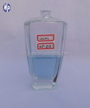 10cl empty glass perfume bottle with pump sprayer
