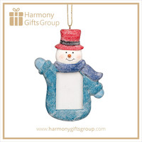 Baby Shower Favors Resin Snowman Photo Frames