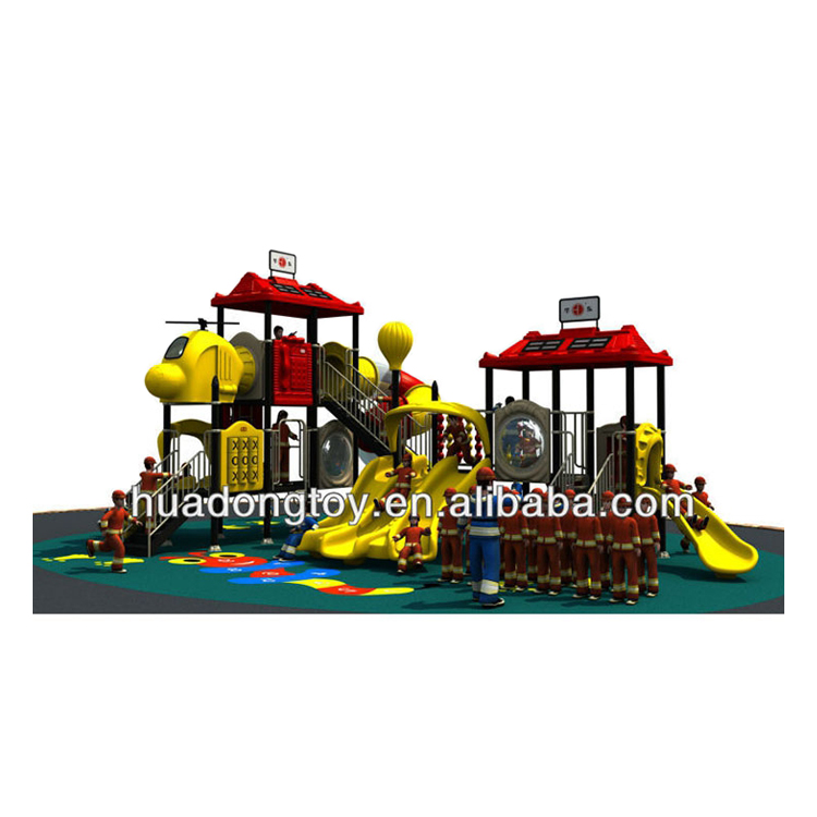 Outdoor Big Playground Equipment Fire Control Series