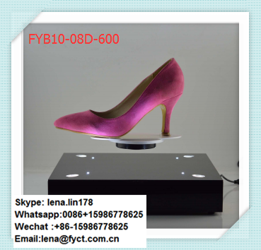 High-tech rotating 360 degree semicircle base max load 300g floating magnetic levitation shoes