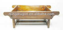 Chinese Antique Garden Flower Wood Trough