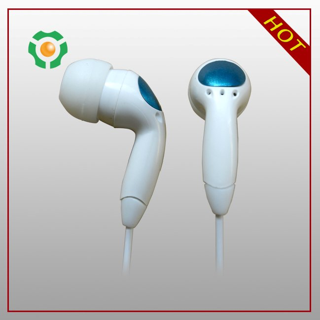 Fashionable in-ear earphone wired communication and volume control