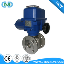 ASME Electrical Motor Actuated LNG Two Pieces Remote control Ball valve