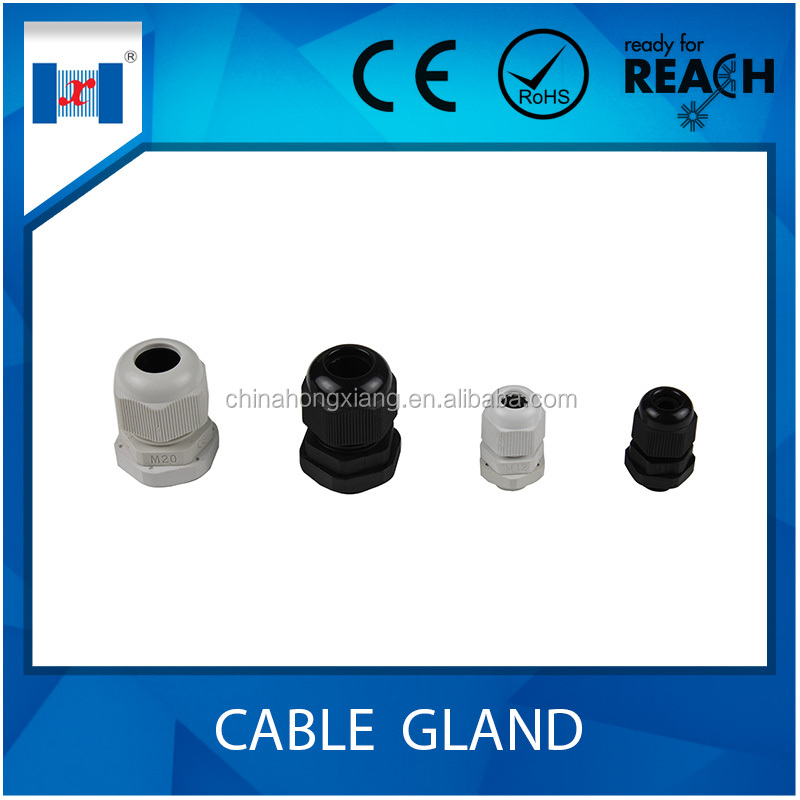 HongXiang Waterproof nylon cable gland IP68 plastic material