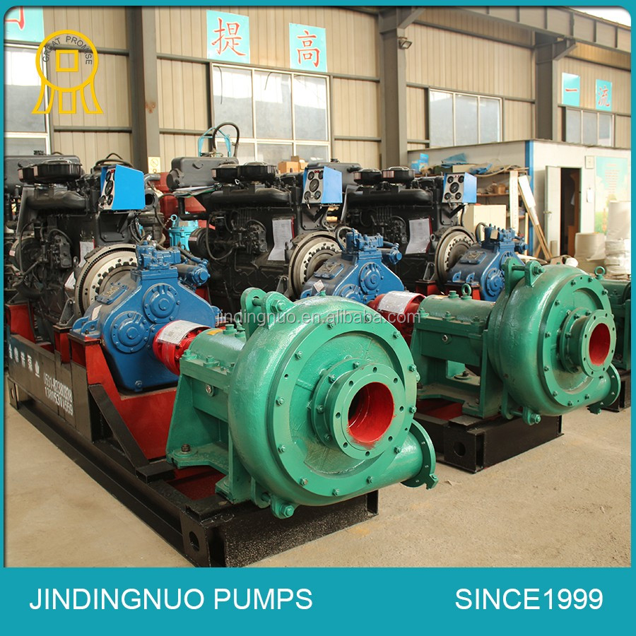 Wear resistant sand dredge pump
