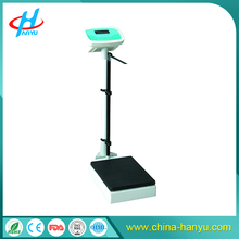 HY-RCS 200kg Electronic body weight balance/sitting scale with height gauge