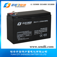 Rechargeable 12v5ah Sealed high voltage battery 12v5ah deep cycle vrla solar battery with high capacity for UPS