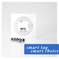 13.56Mhz Programmable rfid nfc tag / label / sticker from China maker