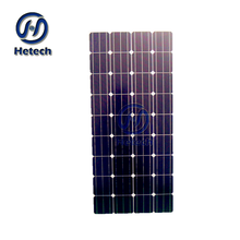 Hot Sale Monocrystalline Solar Cell 140W 145W 150W 155W 160W Mono Flexible Solar Panel with CE RoHS
