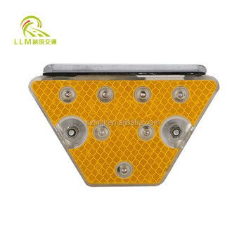 2017 best selling yellow tunnel reflective delineator